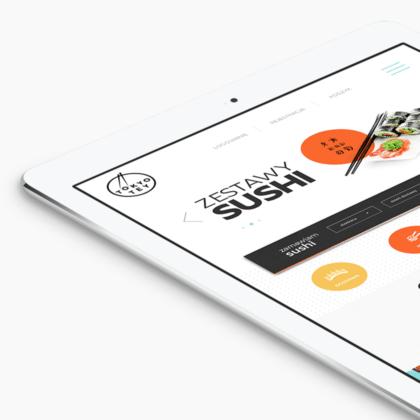Strona internetowa dla restauracji Tokyo Tey w Poznaniu