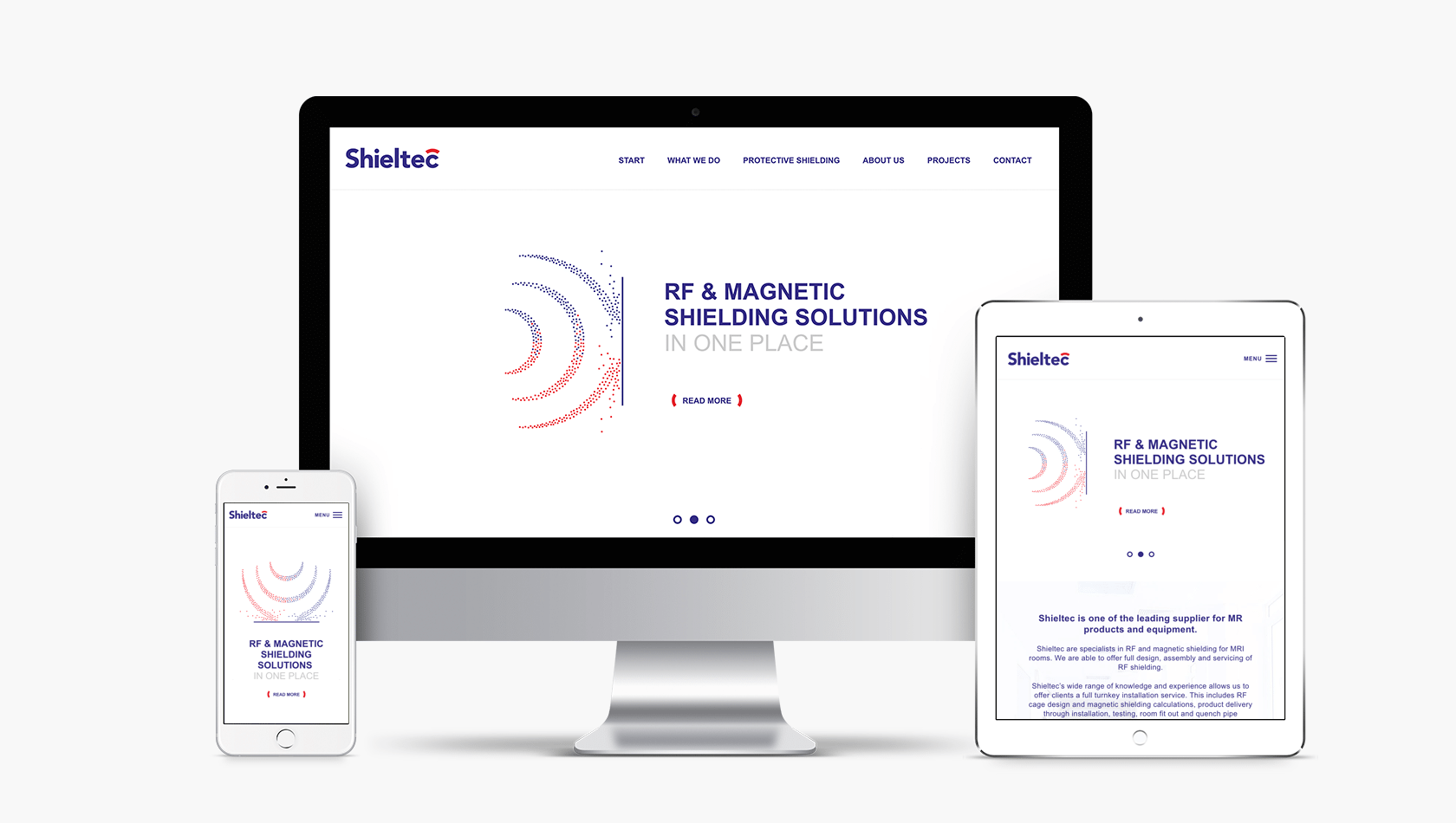 Website for Shieltec