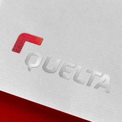 Quelta visual identity