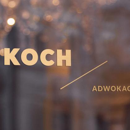 Nowa identyfikacja wizualna dla kancelarii adwokackiej Koch