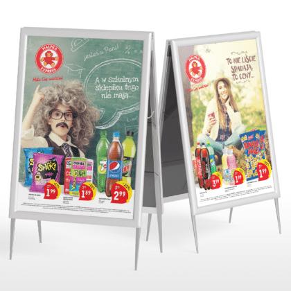 Kampania reklamowa dla sieci sklepów Małpka