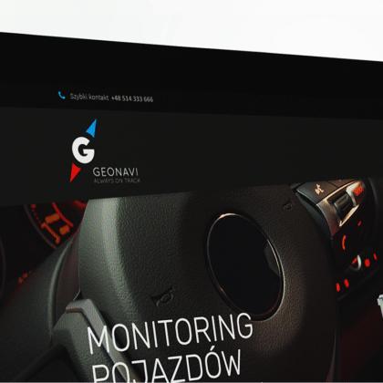 Nowa identyfikacja wizualna dostawcy monitoringu gps pojazdów Geo Navi