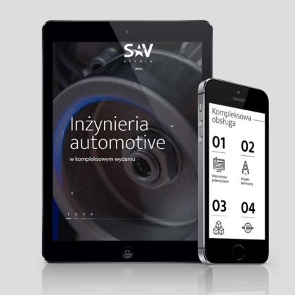 Strona internetowa dla projektantów z SAV Studio