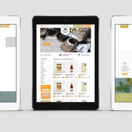 Sklep internetowy oferujący zdrową żywność dla Skrzynki Smaku