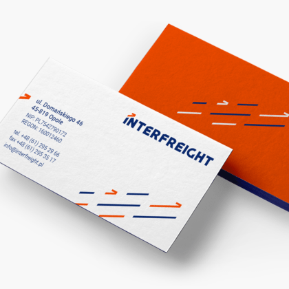 Rebranding of Interfreight a logistics company