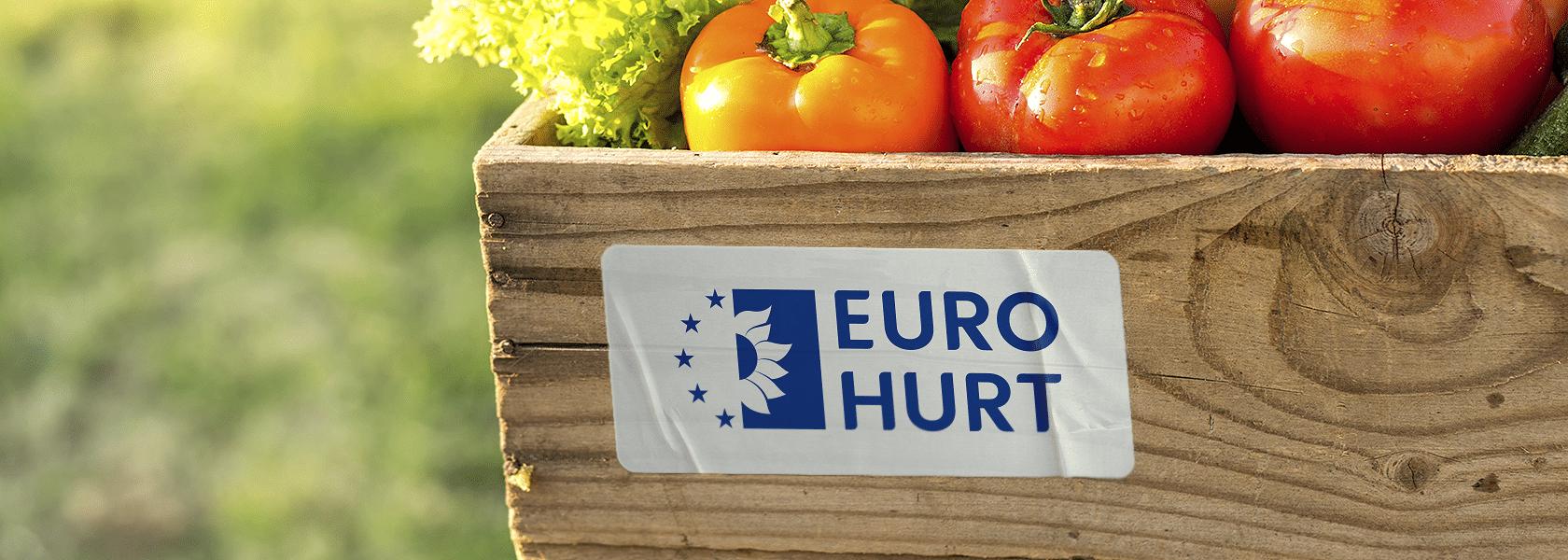 Rebranding hurtowni spożywczej Euro Hurt