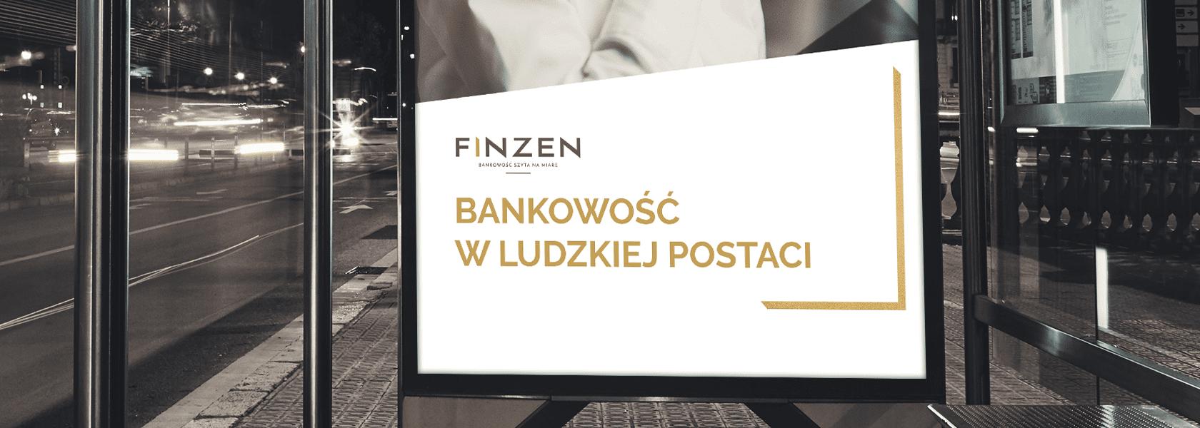 Nowy branding firmy z sektora bankowego Finzen