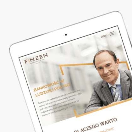 Website for Finzen