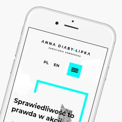 Strona internetowa dla Anna Diaby Lipka Kancelaria Adwokacka