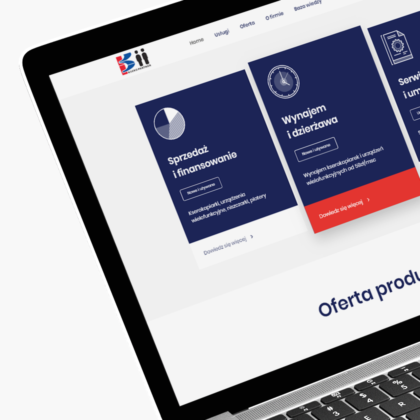 Strona internetowa dla dystrybutora kserokopiarek Ksero Partner