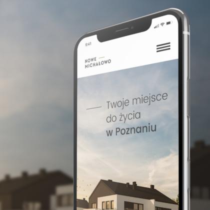 Strona internetowa dla inwestycji Nowe Michałowo
